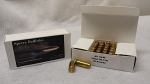 Sperry Ballistics .40 S&W 180 grain FMJ (50 rounds)