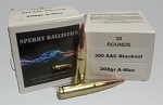 Sperry Ballistics 300 AAC Blackout 208 grain Amax FMJ (30 rounds)