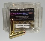 Sperry Ballistics 500 Smith & Wesson Magnum 350gr Flat Point (20 Rounds) New Ammo