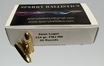 Sperry Ballistics 9mm 124gr FMJ 50 per box